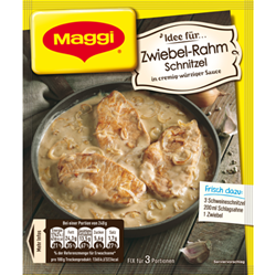 Изображение Maggi Fix onion cream schnitzel 35g