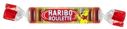 Picture of Haribo Roulette Rubber Candy,  (50 x 25 g)