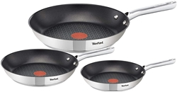 Изображение Tefal Duetto Non-Stick Frying Pan Set, Consisting of 28, 24 and 20 cm Frying Pans