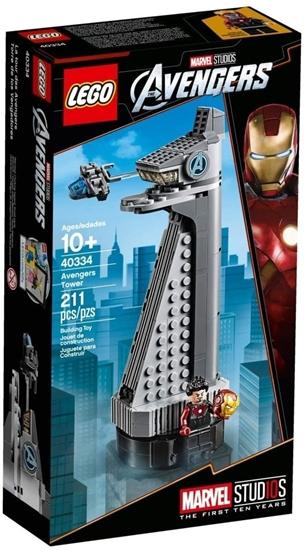 תמונה של LEGO Marvel Avengers Tower 40334