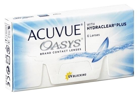 תמונה של עדשות מגע לשבועיים גונסון & גונסון Acuvue Oasys with Hydraclear Plus -1.25/8.8