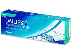 תמונה של עדשות מגע Dailies AquaComfort Plus Toric (30 lenses) -0.75/-0.75/010