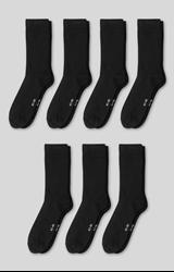 תמונה של Socks - organic cotton - 7 pairs, Black