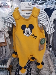 Изображение Baby Outfit (Mickey)- 2 pieces, Organic Cotton