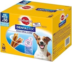 תמונה של חטיף לכלבים, טיפול שיניים דנטסטיקס לכלבים קטנים, אריזה 880 גרם Pedigree