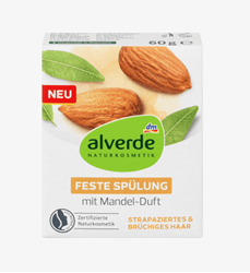 Изображение alverde NATURAL COSMETICS Firm conditioner with almond scent, 60 g