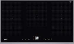 Picture of Neff T59TT60N0 Electric/Induction Hob, 91.80 cm, Glass Ceramic/Black, TwistPad design frame