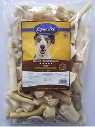 Изображение  Lyra Pet 10 kg Ox Tail 1-7 cm 10,000 g like Ox Zziemer Chew Item Dog Beef Chew Item Chew